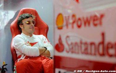 """Alonso : Tweeter et Facebook comme un prolongement naturel """"Je ne suis pas aussi poli que je devrais l'être"""""""