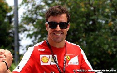 Alonso veut un podium... et battre Massa