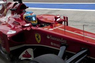 Alonso ''dans le groupe de tête''
