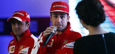 """Alonso: """"De Australie dort pas et mes cheveux tombe ... est un drame"""""""