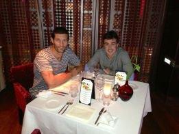 "Fernando Alonso dîner ""avec son ami"" Mark Webber à Dubaï"