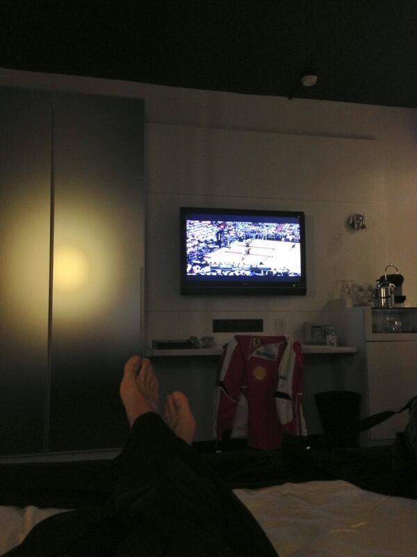 Tiempo para ver la NBA... NBA time...