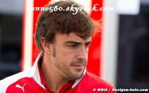 Alonso : Je n'ai discuté avec aucune autre équipe