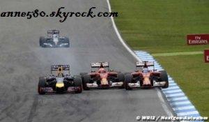 Fernando Alonso tacle Kimi Raikkonen