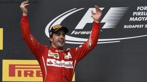 """Grand Prix de Hongrie 2014 : Fernando Alonso (Ferrari) deuxième et """"très fier"""""""
