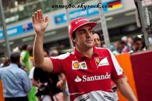 Fernando Alonso renouvelle son contrat avec Ferrari