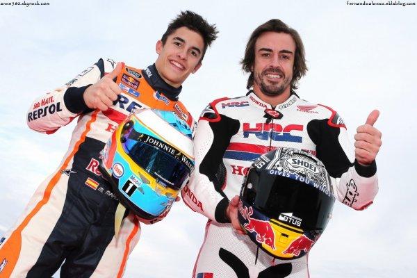 Fernando Alonso s'offre un tour en RCV