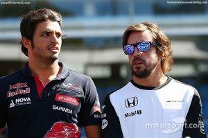 """Sainz - """"Alonso est un très bon modèle"""""""