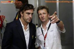 Alonso atteint les 100 tours