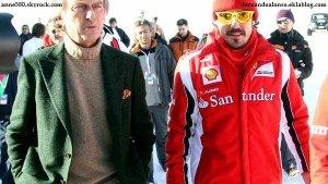 Fernando Alonso répond à l'ancien président de Ferrari !