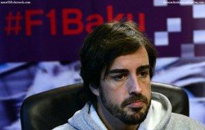 """Bakou : circuit en ville """"le plus rapide du monde"""" selon Fernando Alonso"""