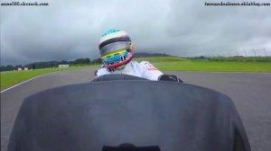 Cinq pilotes de F1 engagés dans une course folle de go-kart