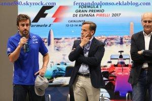Fernando Alonso dans le championnat karting Espagne 2017