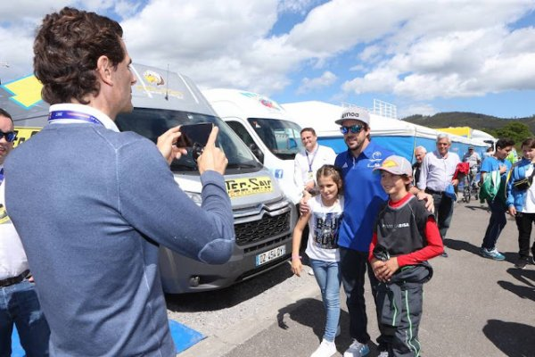 PHOTOS FERNANDO ALONSO DU CHAMPIONNAT D'ESPAGNE DE KARTING 2017 partie 1