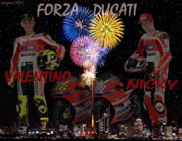 Vale Nicky Forza Ducati