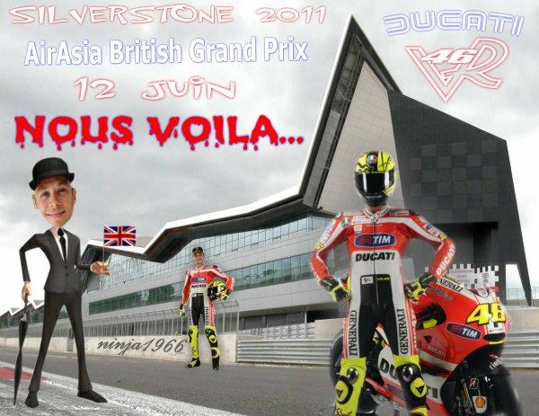 Valentino Rossi Ducati...Silverstone 2011