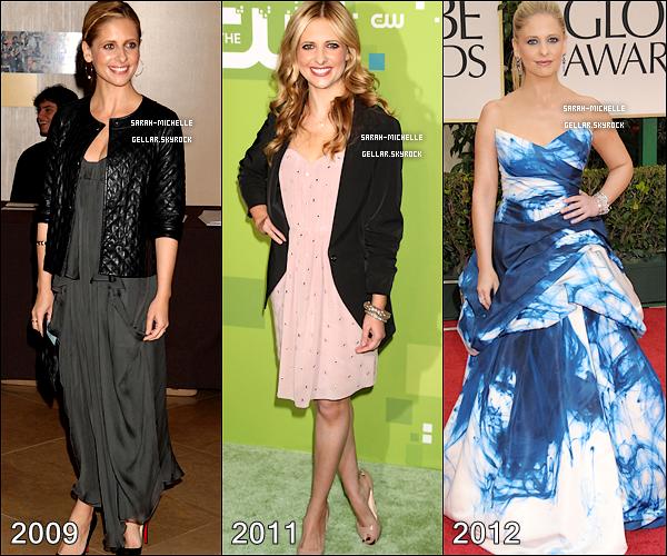 Découvrez l'évolution physique et vestimentaire de Sarah M. Gellar de 1994 à 2012 !