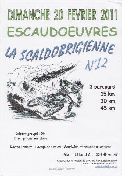 ESCAUDOEUVRE  LA SCALDOBRIGIENNE N°12