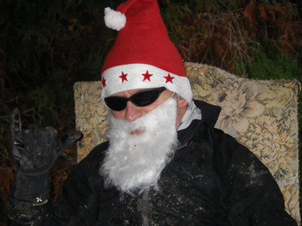 Le Père Noël est un rockeur