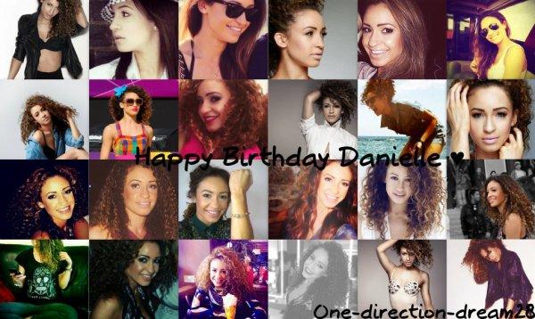 Joyeux anniversaire à la belle Danielle Peazer ♥