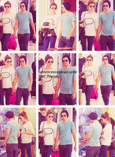 Louis et Eleanor à Nice ♥