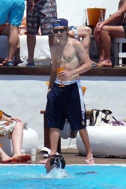 Niall en Espagne