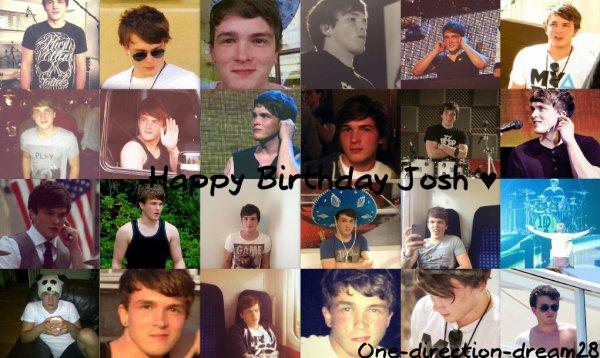 Joyeux Anniversaire Josh Devine ♥