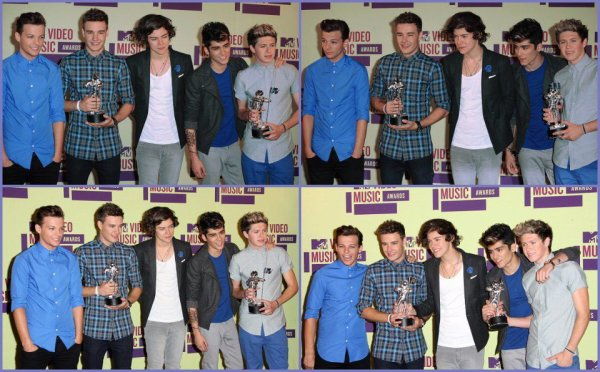 Les One Direction aux VMA ♥