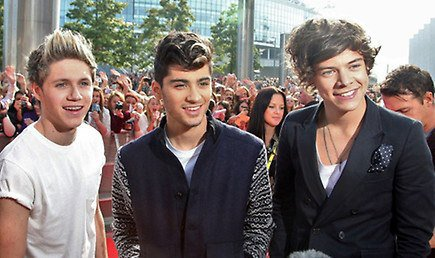 Les One Direction aux Teen Awards ♥