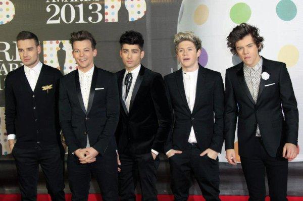 Les garçons au Brit Awards ♥