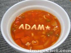 le nouveau repas de adam