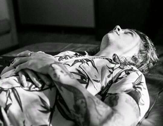 Harry allongé