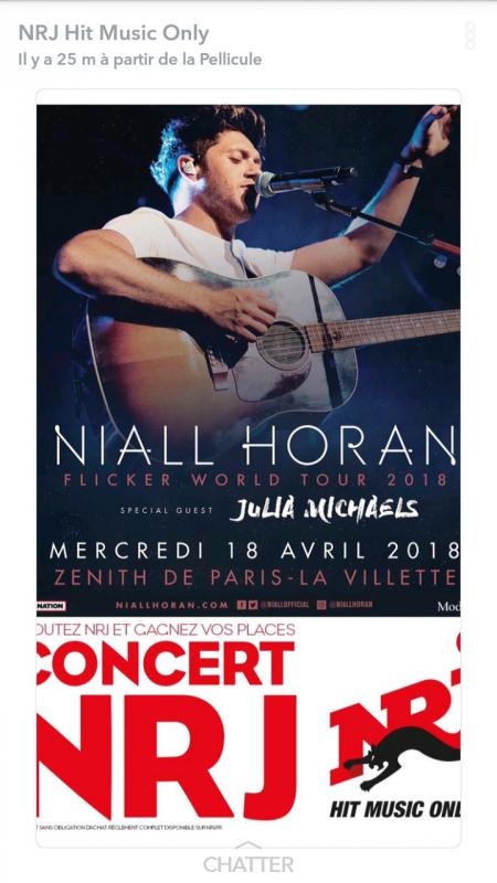 Concert niall horan