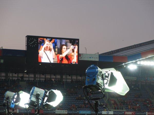 Déplacement à Bale, Suisse - Angleterre, 08.09.2014, Qualification Euro 2016