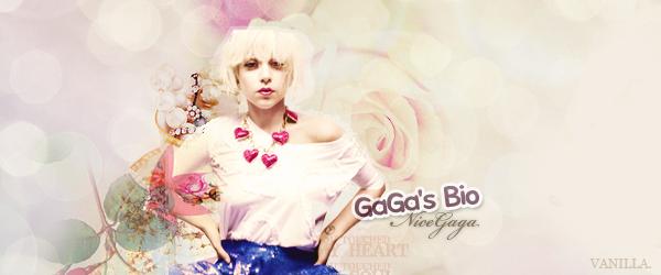 © N i c e G A G A Article .2 → Découvre Lady Gaga..