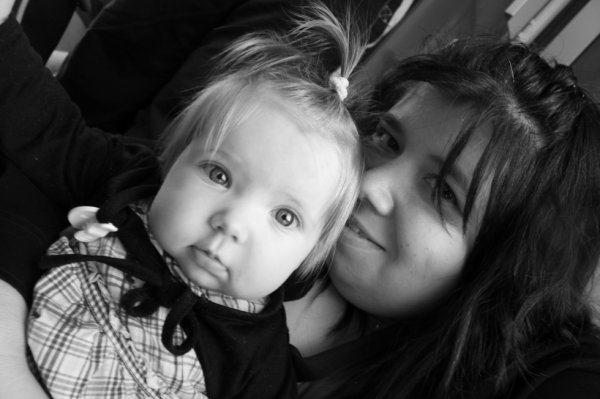 ma princesse ( ma fille ) Léah et moi
