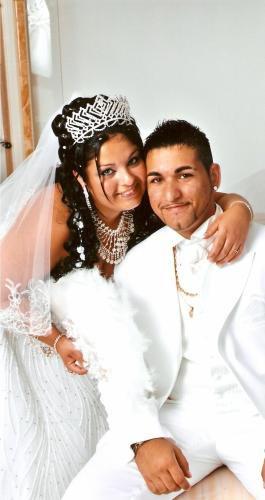 moi et mon marie pr notre mariage le 5.07.2008