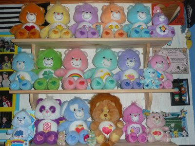 Ma collection de peluches