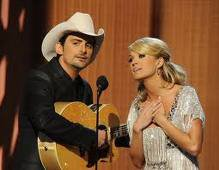 Brad and Carrie!