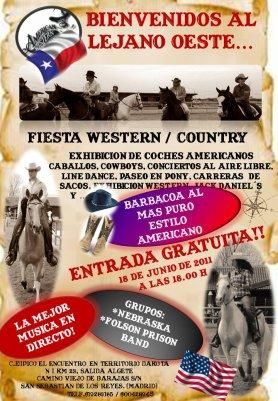 Gran FIESTA COUNTRY en El Encuentro!