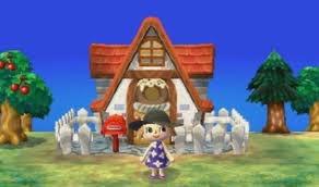 Une maison dans AC 3DS.
