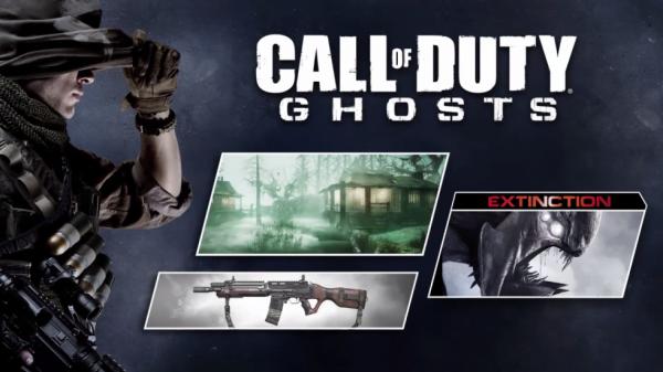 1 pâque de carte DLC pour call of duty ghost