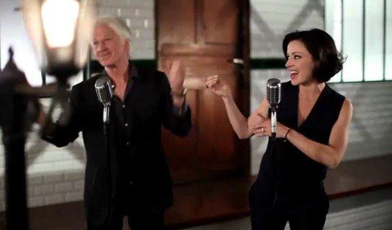 """Gérard Lenorman & Tina Arena  nouveau clip Voici les clefs"""""""