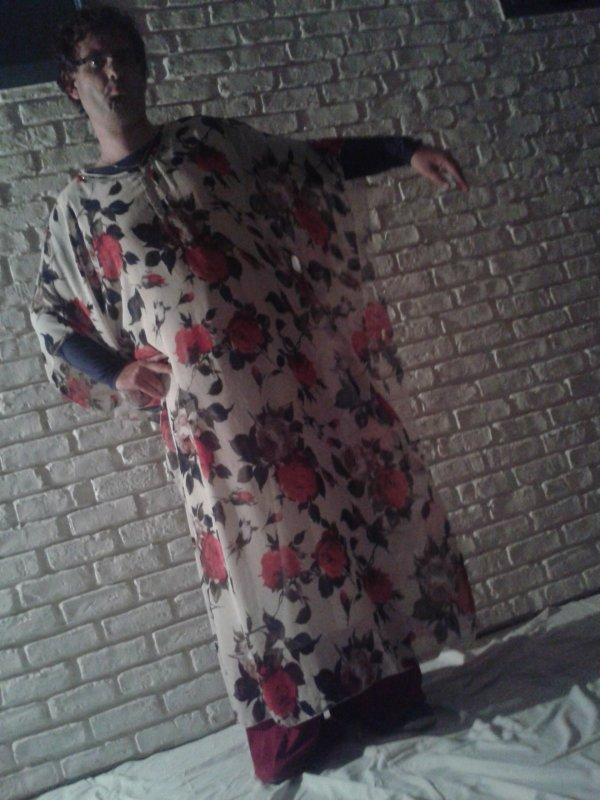 moi avec ma robe