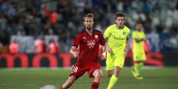 Le joueur tchèque des Girondins Jaroslav Plasil évoluera devant ses proches ce soir