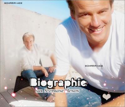 Biographie de Stephane Henon :