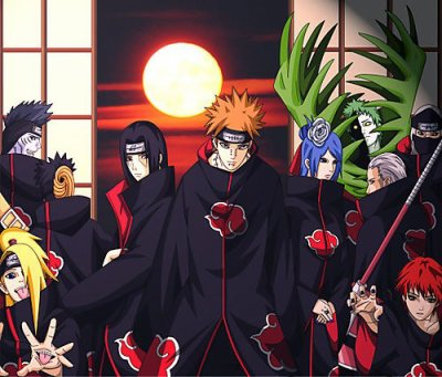 L' organisation secret Akatsuki