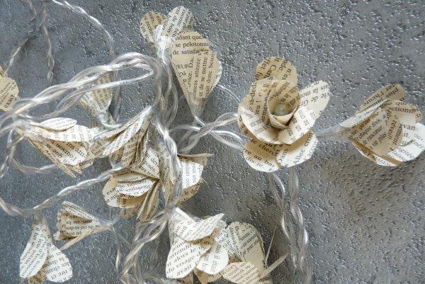 Creation Guirlande De Fleurs Lumineuse Luucky La Bidouille