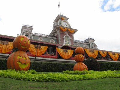 Halloween a Disney World