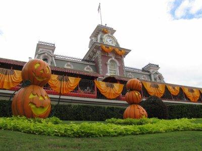 Halloween a Disney World
